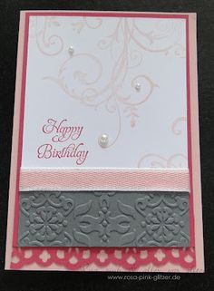 Stampin up - Birthday card for ela