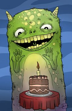 Monsterlicious birthday wishes!