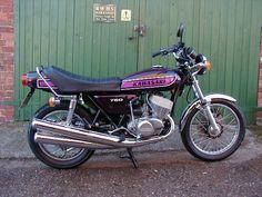 1975 Kawasaki H2C 750 what a bike what fun wheelies everywhere!