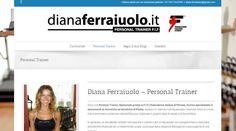Blog realizzato per la personal trainer Diana Ferraiuolo