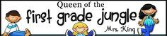 Queen of the First Grade Jungle blog
