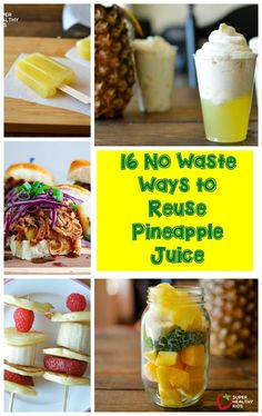 juicing for beginners,juicing for kids,juice for health,juicing lifestyle Pineapple Recipes, Canned Pineapple, Pineapple Juice, Lime Juice, Best Smoothie Recipes, Good Smoothies, Fruit Smoothies, Punch Recipes, Juice Recipes For Kids