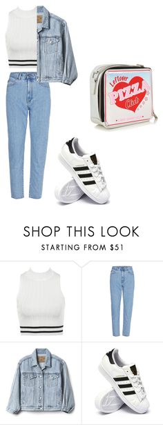 """""""Outfit for date"""" by elzikaa on Polyvore featuring Gap and adidas"""