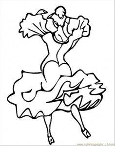Spicy Spain coloring page Free Printable Coloring Pages