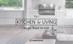 The Butler's laundry, indoor barbecues and more!   See our Top 5 Hottest Kitchen & Living Design Trends for 2014!  http://www.caesarstone.com.au/News/News-Announcements/News/407/Top-5-Kitchen-Living-Design-Trends-for-2014.aspx  #kitchen #interiordesign #inspiration