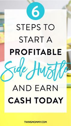 How to Launch Your Online Side Hustle Today – Do you want to start a side business but don't know how? Here are the 6 steps to help you with your side hustle ideas. Launch your side hustle and start earning passive income today. Grab your FREE 15 page promo kit here.