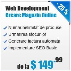 Web Development de la 149.99 USD www.4seo.ro