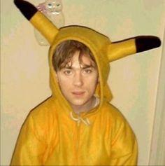 Damon Albarn Pikachu