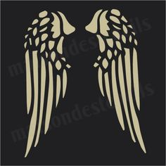 Cut Shirt Designs, Diy Cut Shirts, Brush Tattoo, Angle Wings, Angel And Devil, Maquillage Halloween, Scroll Saw Patterns, Christmas Angels, Leather Craft