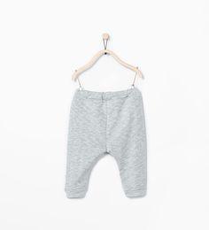 ZARA - NOWOŚCI - Spodnie z wiązaniem i kieszeniami