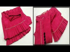 In this Video, I will show you Beautiful Palazzo Bottom/Mohri Design. Like, Comment, Share with . Kurti Sleeves Design, Kurti Neck Designs, Sleeve Designs, Blouse And Skirt, Ruffle Blouse, Baby Dresses, Palazzo Pants, Fasion, No Frills