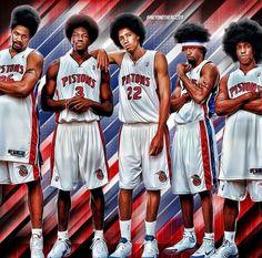 2004 Detroit Pistons: the ture bad boys Detroit Pistons the bad guys Basketball Movies, Detroit Basketball, Detroit Sports, Nba Sports, Basketball Legends, Sports Basketball, Detroit Lions, Bad Boy Pistons, Detroit Vs Everybody