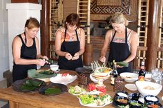 Balinese cooking is a creative process that is simple and a lot of fun. At Anika Balinese Cooking Class, you will learn the techniques and become familiar with the fresh herbs, spices, and other ingredients that make Balinese food delightfully tasty as well as nutritious and cleansing. Over