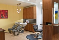 The Salon at Spa Anjali is perfect for a new style or wedding party prep.
