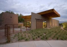 Mormon Fort Visitor's Center by Assemblage Studio