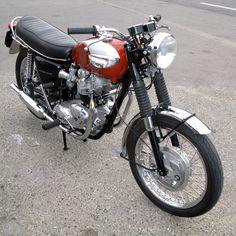 THE Bonnie ! Moto TRIUMPH BONNEVILLE 1968