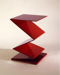 Zig Zag Side Table by LeavittWeaver on HomePortfolio
