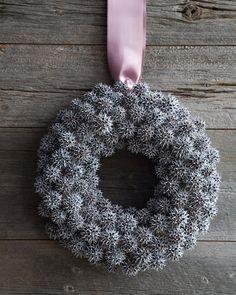 Sweetgum-Fruit Wreath
