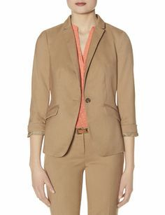 Soft One Button Jacket from THELIMITED.com #TheLimited #LTDWellSuited