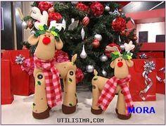 reindeer + pattern