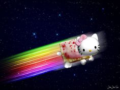 Even Hello Kitty had to be Nyan!