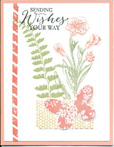 Butterfly Basics stamp set from Occasions 2015. Butterfly Thinlit Occasions 2015