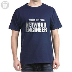 CafePress - Trust Me, I'm A Network Engineer T-Shirt - 100% Cotton T-Shirt - Trust me im an engineer shirts (*Amazon Partner-Link)