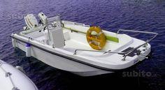 Boomerang - Cantieri Il Remaccio di Cagliari - Trimarano mt 4,10 Johnson 521 - barca tipo Boston Whaler con gavone inclinato