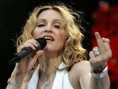 Madonna, f*uck u all! I'm old, so what!?