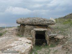 There are 198 dolmens in Gorafe - Granada -