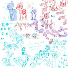 For reference if you're an artist who likes to draw MLP: FiM!