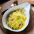 Spaghetti Squash Salad w/ pine nuts and tarragon