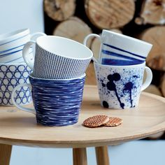Royal Doulton   just got these gorgeous coastal dishes! I love where I live!-Cindy