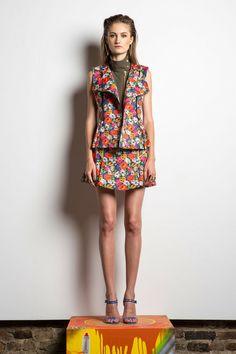Veronica Beard Spring/Summer 2014  #veronicabeard #nyfw #mbfw #springsummer #fashionweek #collection #2014 #ss14 #model  #fashion