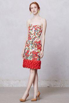 Luisa Poppy Dress #anthropologie