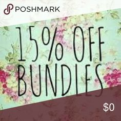 Weekend Bundle SALE!! 15% off 3+ item bundles!! Considering all offers! Dot. Wait - I'm on vacation July 2-7 so buy it now! Anthropologie Other