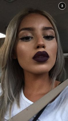 Dark lips for the autumn - we can't wait! #Beauty #Motd