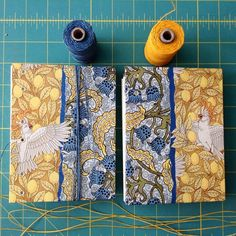Ruth Bleakley (@ruthbleakley) | ✨ta-daa! Now I reveal my Cockatoo journal has a twin! Maybe I'll call it journal number Cocka-two✌️check out my Instagram for process pics while I make these ✂️ | Intagme - The Best Instagram Widget