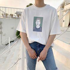 Korean Fashion Men, Best Mens Fashion, Japanese Street Fashion, Dope Fashion, Urban Fashion, Retro Outfits, Trendy Outfits, Fashion Outfits, Aesthetic Fashion