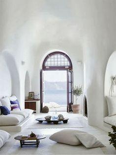 gorgeous white living