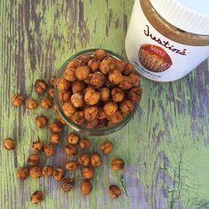 Crunchy Cinnamon Maple Almond Butter Chickpeas - Justin's
