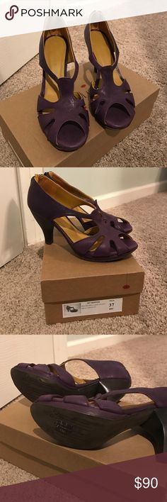 Coclico Heels All leather Coclico size 37, US 7 equivalent.   Never worn- new condition. coclico Shoes Heels