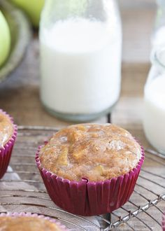 Gluten Free Apple Fritter Muffins are a healthy but indulgent tasting treat perfect for fall. Made with TigerNut flour.: Gluten Free Apple Fritter Muffins are a healthy but indulgent tasting treat perfect for fall. Made with TigerNut flour. Brunch Recipes, Breakfast Recipes, Dessert Recipes, Breakfast Muffins, Breakfast Ideas, Healthy Muffin Recipes, Healthy Muffins, Apple Recipes, Baking Recipes