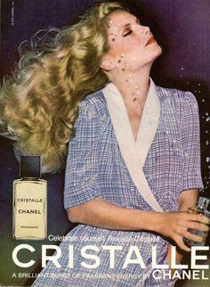 1979 CHANEL Cristalle Perfume Fragrance Print Advertisement Ad Vintage VTG 70s | eBay