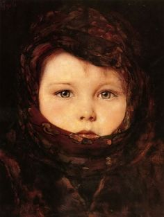 Little Girl - Nikolaos Gyzis. This is really a photograph and not a painting. That is what I told myself looking upon this on the Greek National Gallery for the first time. Social Art, Paintings I Love, Greek Paintings, Greek Art, Art Database, Foto Art, Gustav Klimt, Rodin, Lovers Art