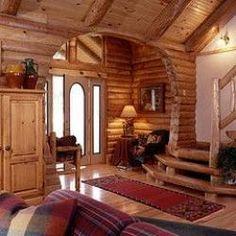 Log cabins...hmmmmm