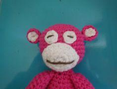 crochet monkey, amigurumi monkey, free crochet monkey pattern
