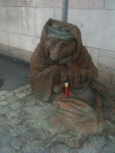 Poor wolfie Visit Israel, Tweety, Travelling, Lion Sculpture, Statue, Places, Art, Art Background, Kunst