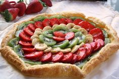 Hojaldre con frutas ~ home baked