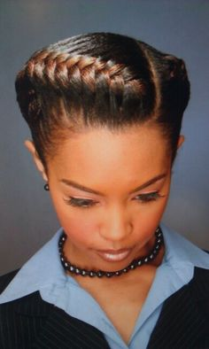http://www.shorthaircutsforblackwomen.com/hair-steamers-for-natural-hair/ Cute designs on curly hair, ponytail styles, with weave, with braids on African American black women. Natural undercut ideas and styles. Quick & easy tutorials for long hair styles, buns,bangs,braids,styles with layers for teens& for summer looks. For women with both straight & curly haircuts, school & work ideas, updos for round faces & thin faces. Goddess Braids. This looks effortlessly gorgeous